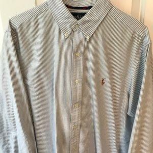 Ralph Lauren Polo Seersucker Dress Shirt